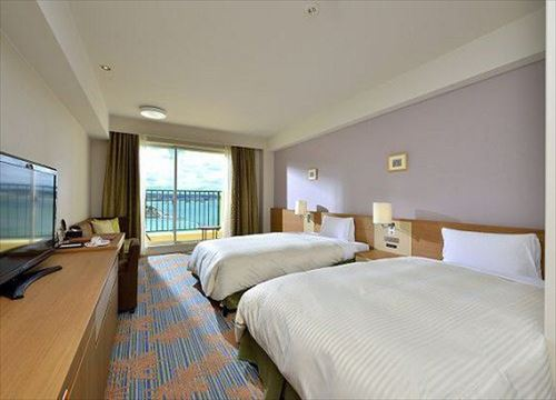 Main building Oceanview Twin Room